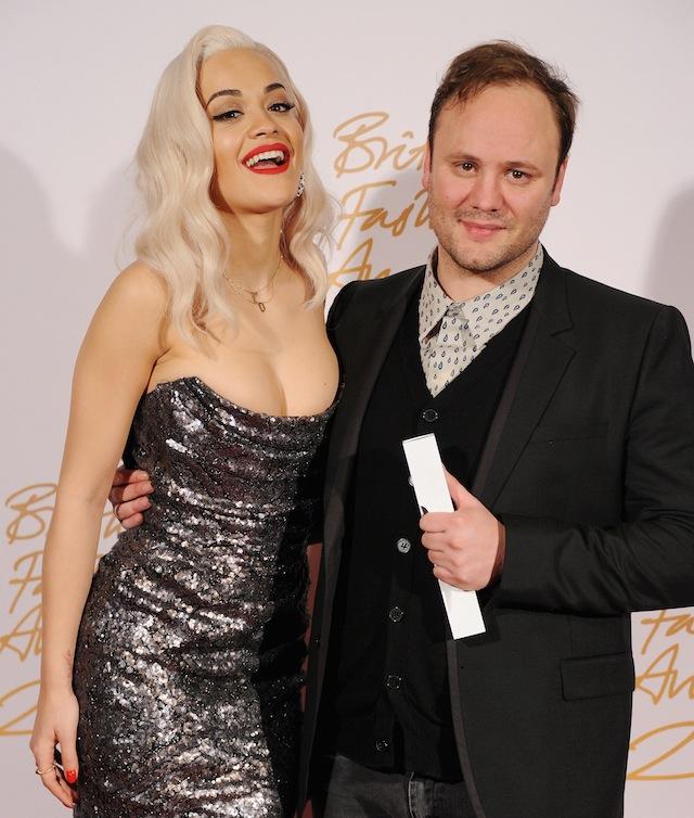 British Fashion Awards 2013 - Winners Room