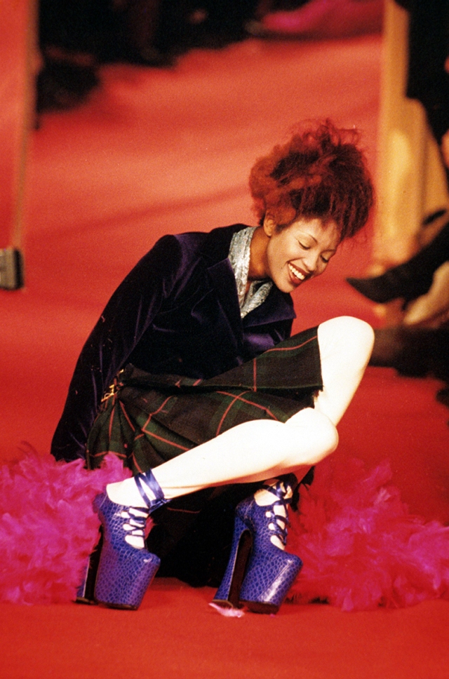 Vivienne Westwood Fashion Show, Paris, France - 1993