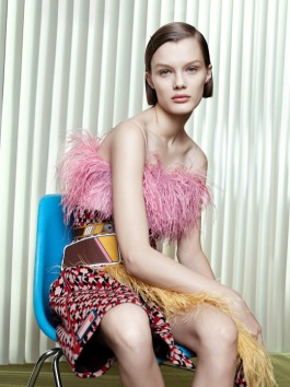 Prada spring-summer 2017 by Willy Vanderperre