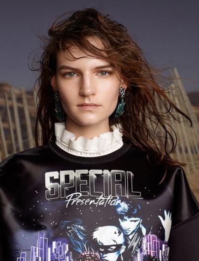 Balenciaga's AW12 campaign by Steven Meisel.