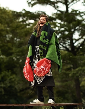 Publication: Porter Magazine #22 Fall 2017 Model: Cameron Russell Photographer: Cass Bird