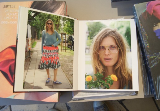 Torbjørn Rødland's book starring Małgosia Bela at C/O Berlin Bookstore - perfectly matches the spring mood.
